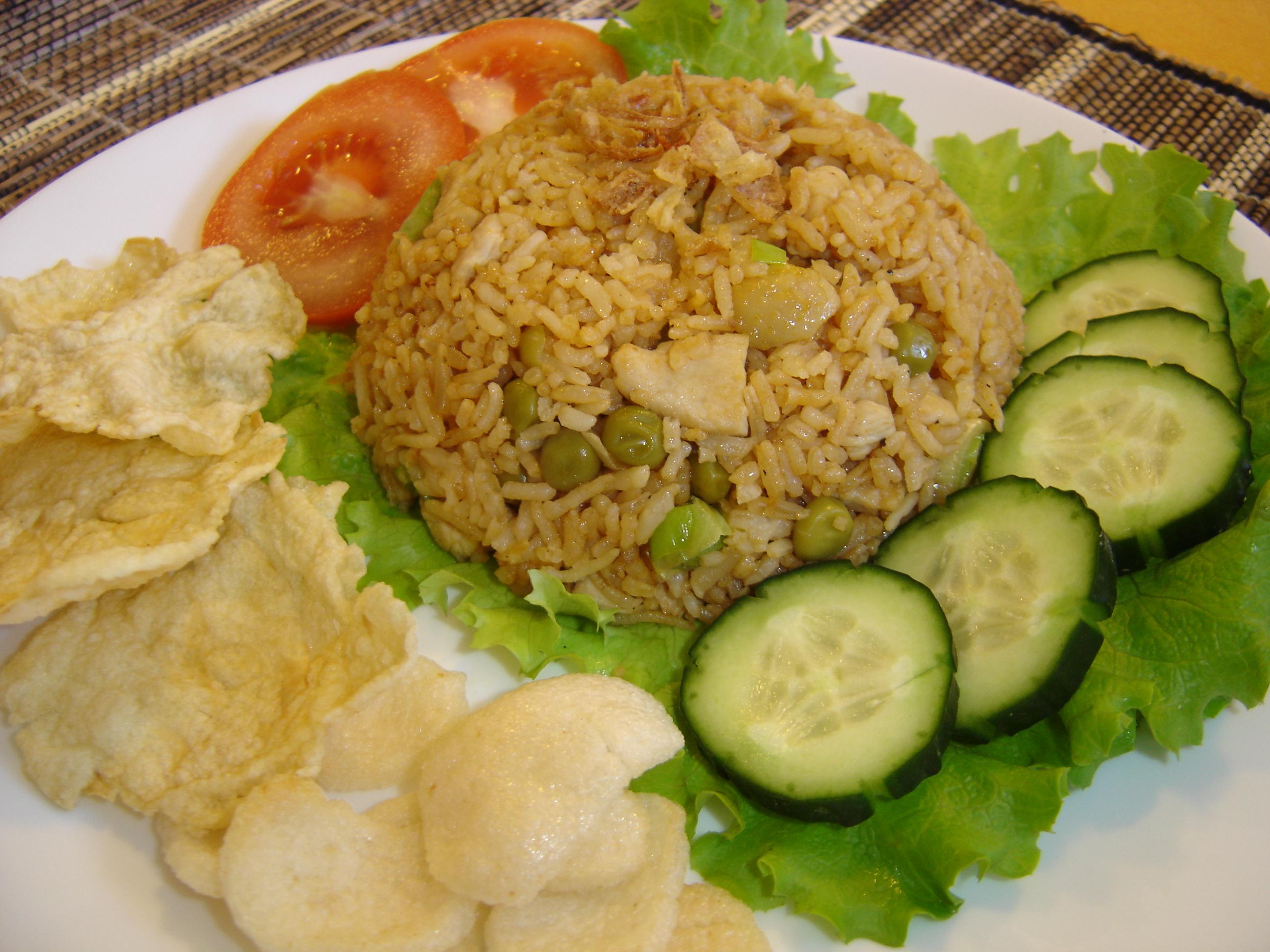 Tasty indonesian food nasi goreng ayam nasi goreng ayam forumfinder Gallery