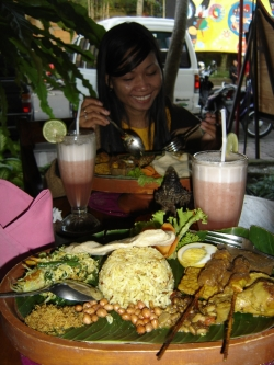 culinary trip in Indonesia
