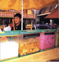 penjual es