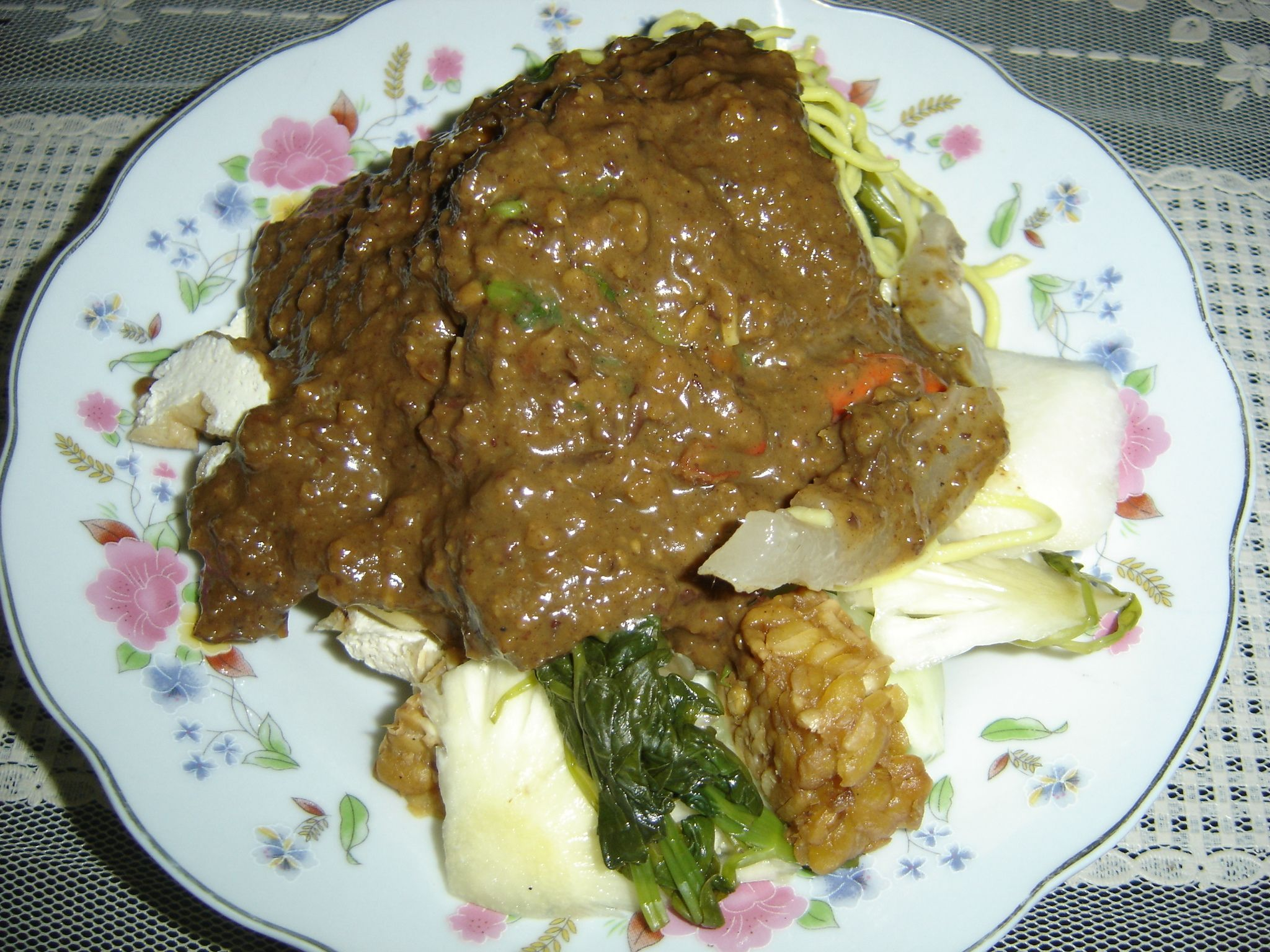 Tasty Indonesian Food Rujak Cingur